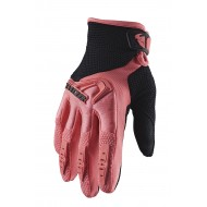 OFFER THOR WOMEN SPECTRUM GLOVES 2020 CORAL / BLACK COLOUR