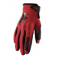 GUANTES THOR SECTOR 2020 COLOR ROJO