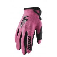 GUANTES MUJER THOR SECTOR 2020 COLOR ROSA
