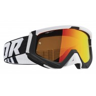 THOR SNIPER GOGGLES 2021 BLACK / WHITE COLOUR - IRIDIUM LENS