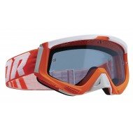 THOR SNIPER GOGGLES 2021 FLUO ORANGE / WHITE COLOUR - BLUE LENS