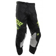 PANTALÓN INFANTIL THOR PULSE AIR PINNER 2020 COLOR NEGRO / ÁCIDO