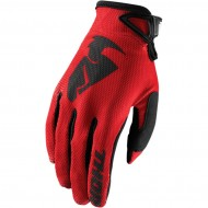 THOR YOUTH SECTOR GLOVES 2021 RED COLOUR