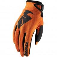 THOR YOUTH SECTOR GLOVES 2021 ORANGE COLOUR
