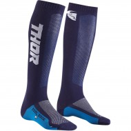 THOR YOUTH MX COOL SOCK 2020 NAVY / WHITE COLOUR - ONE SIZE