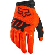 GUANTES FOX DIRTPAW RACE 2020 COLOR NARANJA FLUOR