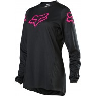 FOX YOUTH GIRLS 180 PRIX JERSEY 2020 BLACK/PINK COLOUR