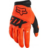 GUANTES INFANTILES FOX DIRTPAW RACE 2020 COLOR NARANJA FLUOR