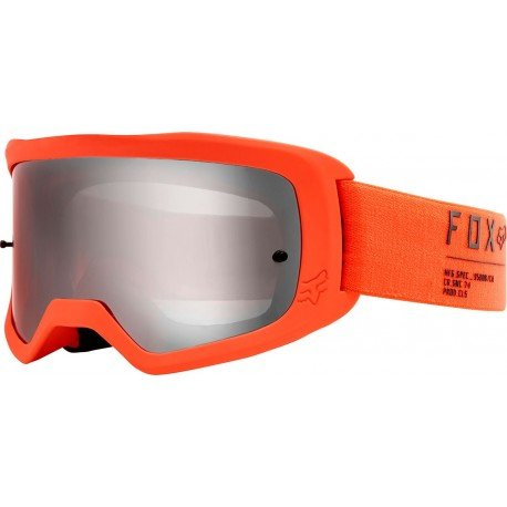 GAFAS FOX MAIN II GAIN 2020 COLOR NARANJA FLUOR - LENTE ESPEJO