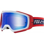 FOX AIRSPACE II SIMP GOGGLE 2020 NAVY / RED COLOUR - MIRROR SPARK LENS