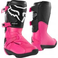 BOTAS INFANTILES FOX COMP 2020 COLOR NEGRO/ROSA