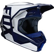 CASCO INFANTIL FOX V1 PRIX 2020 COLOR AZUL MARINO