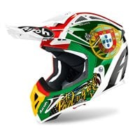 CASCO AIROH AVIATOR 2.3 AMS2 EDICIÓN LIMITADA SIX DAYS 2020 PORTUGAL