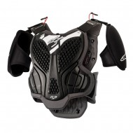 ALPINESTARS YOUTH A-5S BODY ARMOR 2020 BLACK / COOL GREY COLOUR