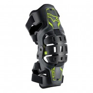 ALPINESTARS YOUTH BIONIC 5S KNEE BRACE 2020 BLACK / ANTHRACITE / YELLOW FLUO COLOUR