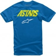 OFFER ALPINESTARS YOUTH ANGLE COMBO ROYAL BLUE COLOUR