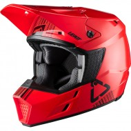 OUTLET CASCO LEATT GPX 3.5 V20.1 2020 COLOR ROJO