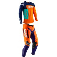 OUTLET COMBO LEATT GPX 4.5 2020 COLOR NARANJA