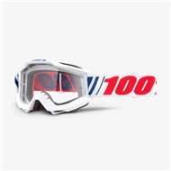YOUTH GOGGLE 100% ACCURI JR SAARINEN - CLEAR LENS