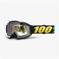 YOUTH GOGGLE 100% ACCURI JR VIRGO - CLEAR LENS