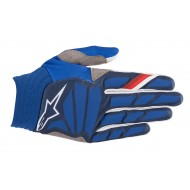 OFFER ALPINESTARS AVIATOR GLOVES 2019 COLOR DARK BLUE / WHITE