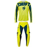 OUTLET COMBO INFANTIL SHIFT WHIT3 YORK 2019 COLOR AMARILLO / AZUL MARINO - TALLA 24 INF USA / L INF