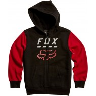 OFFER FOX YOUTH HIGHWAY SHERPA FLEECE BLACK / RED COLOUR