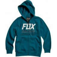 OUTLET SUDADERA INFANTIL FOX OVERDRIVE ZIP COLOR AZUL MAUI
