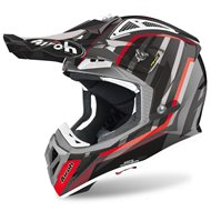 CASCO AIROH AVIATOR 2.3 GLOW 2020 COLOR GRIS CROMO