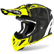 CASCO AIROH AVIATOR ACE KYBON 2020 COLOR AMARILO MATE