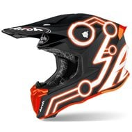CASCO AIROH TWIST 2.0 NEON 2020 COLOR NARANJA MATE
