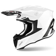 CASCO AIROH TWIST 2.0 2020 COLOR BLANCO BRILLANTE