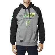 SUDADERA FOX MONSTER PRO CIRCUIT COLOR NEGRO