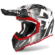 CASCO AIROH AVIATOR ACE KYBON 2020 COLOR ROJO BRILLO