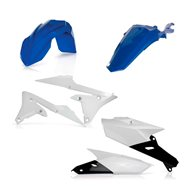 KIT PLASTICOS COMPLETO ACERBIS COLOR ORIGINAL WRF 250 (2015-2019)