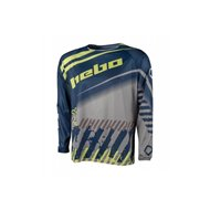 OFFER HEBO END-CROSS STRATOS JERSEY COLOR BLUE