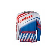 HEBO END-CROSS STRATOS JERSEY COLOR WHITE