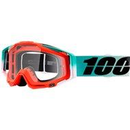 100% GOGGLE RACECRAFT ROXBURRY ORANGE CLEAR LENS