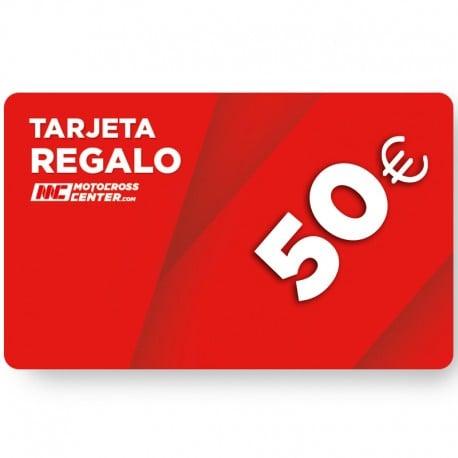 TARJETA DE REGALO MOTOCROSSCENTER 50€
