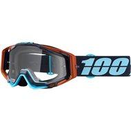 OFFER MOTOCROSS GOGGLE 100% RACECRAFT HYPERLOOP CLEAR LENS