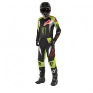 COMBO ALPINESTARS MONSTER ET GEAR 2020 COLOR NEGRO / VERDE BRILLANTE / ROJO