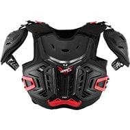 YOUTH LEATT 4.5 PRO CHEST PROTECTOR 2021 BLACK / RED COLOUR