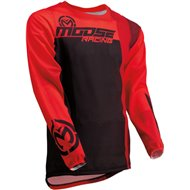 MOOSE JERSEY SAHARA 2020 COLOR RED / BLACK