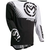 MOOSE JERSEY M1 2020 COLOR BLACK / WHITE
