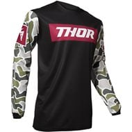 OUTLET CAMISETA THOR PULSE FIRE 2020 COLOR NEGRO / GRANATE