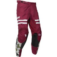 THOR PULSE FIRE PANT 2020 BLACK / MAROON COLOUR