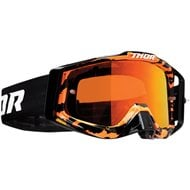 THOR SNIPER PRO RAMPANT GOGGLES 2020 ORANGE / BLACK COLOUR - ORANGE LENS