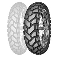 FRONT TIRE MITAS TERRA FORCE-EF 90/100-21 57R - YELLOW LINE