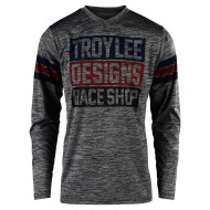 OFFER TROY LEE JERSEY 2020 GP ELSINORE GRAY HEATHER / NAVY