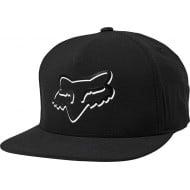 FOX SHADED SNAPBACK HAT BLACK COLOUR